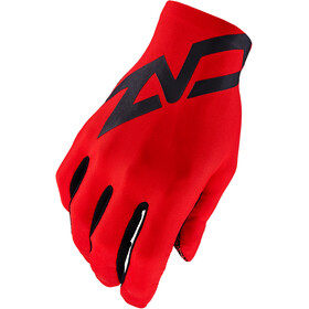 Supacaz SupaG Twisted Long Finger Gloves black/red